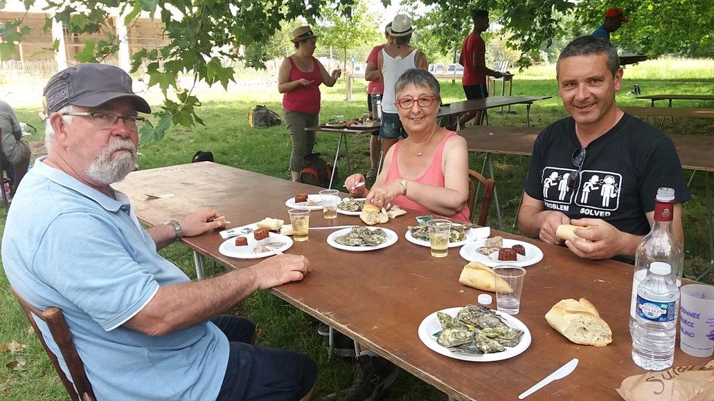 Samedi 27 mai : randonnée pédestre dans le bassin d'Arcachon, dégustation d'huîtres et vin blanc :-)
